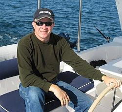 Frank sailing Tahina