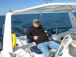 John Taylor at the helm