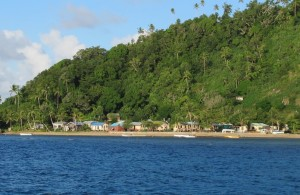 Village of Yanuca in Fiji