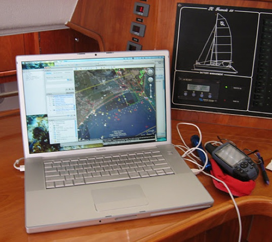 Computer and GPS navigation