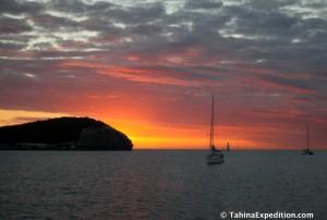 Sunset Nouméa