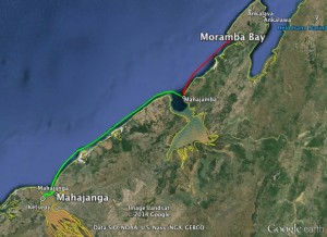 Moramba to Mahajanga