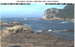 Webcam of Knysna entrance
