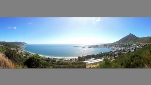 Panorama of False Bay