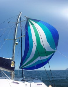 Spinnaker pano by phone